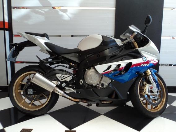 Bmw S 1000 Rr Branca Tricolor 2011
