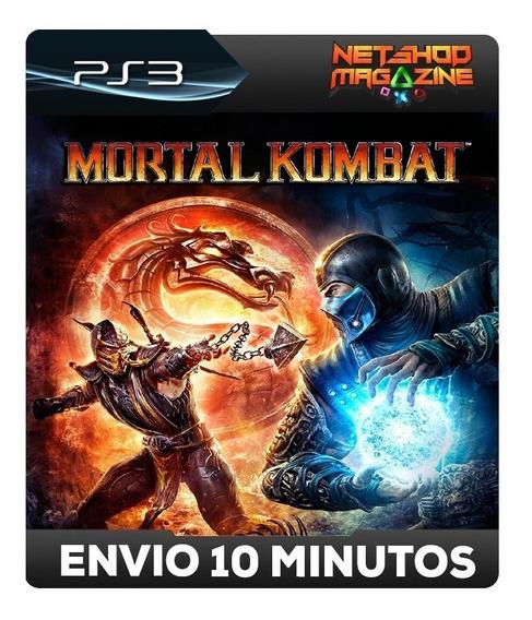 Mortal Kombat Komplete Edition - 9 - Psn Ps3 - Envio Agora
