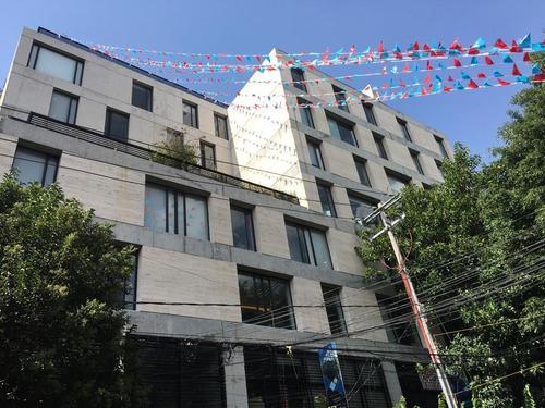 Imagen 1 de 9 de Departamento En Venta, Col Roma Norte, Cuauhtémoc, 3er Nivel