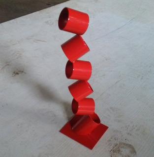 Esculturas En Metal Arte Moderno 45cm
