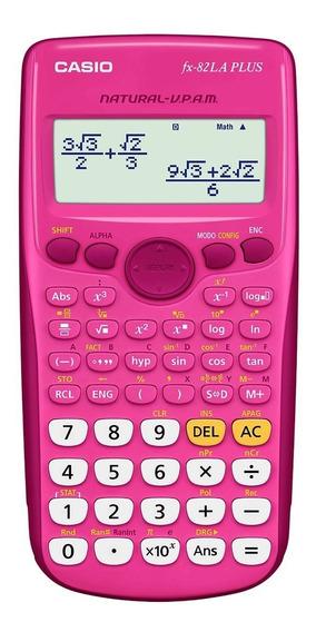 Calculadora Cientifca Casio Fx-82la Plus Rosa, Obelisco.