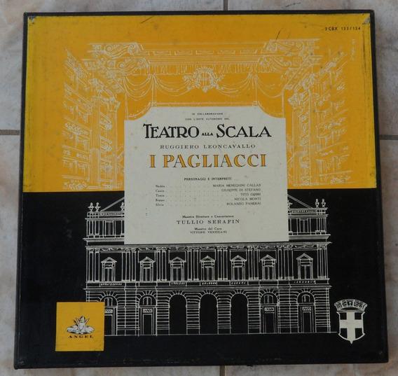 Teatro Alla Scala-i Pagliacci-box 2 Lps(colecionador-mg)