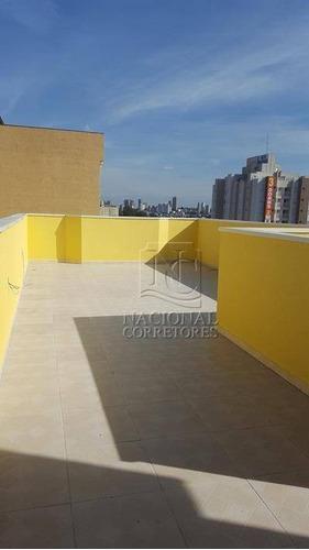 Cobertura À Venda, 100 M² Por R$ 350.000,00 - Vila Camilópolis - Santo André/sp - Co1753