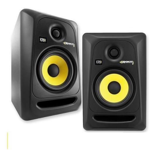 Monitor Ativo Krk 6 Rokit Rp6 G3 Par Studio 110v