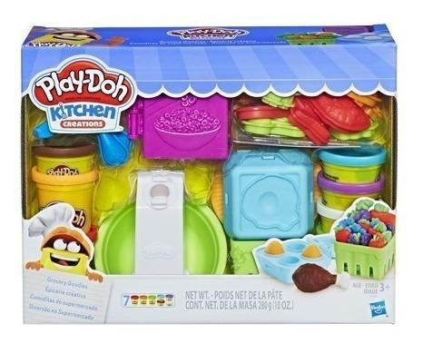Play Doh Cocina Super Market Incluye 7 Play Doh En Oferta !!