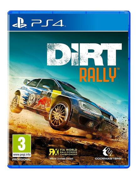 Dirt Rally - Mídia Física - Ps4 - Novo