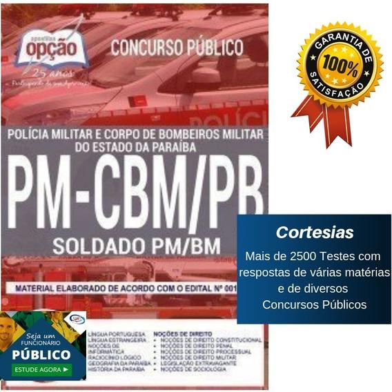 Apostila Polícia Militar Da Paraíba - Soldado Pm Pb E Cbm Pb