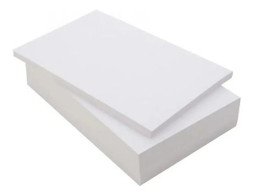 Papel Adesivo Fosco A4 - Pacote Com 100 Folhas