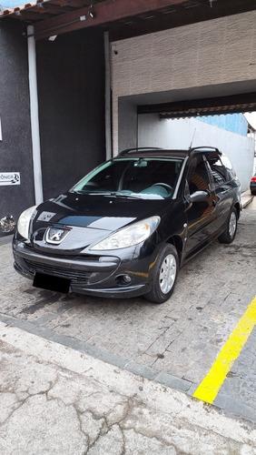 Imagem 1 de 9 de Peugeot 207 Sw 2009 1.4 Xr Flex 5p
