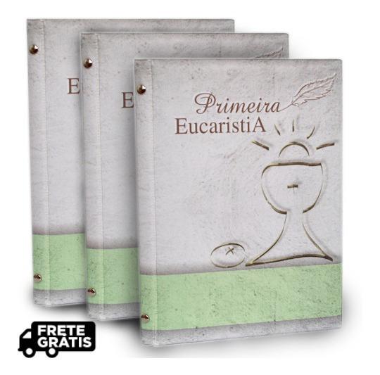 Kit Álbum De Fotos 15x21 - 10 Unidades - Primeira Eucaristia