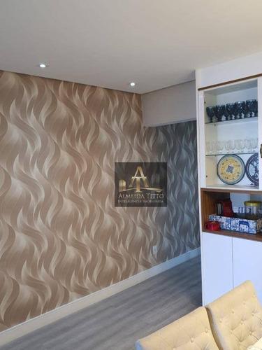 Lindo Apartamento À Venda No Condomínio Reserva Do Alto No Jardim Tupanci Em Barueri/sp - Confira!! - Ap2948