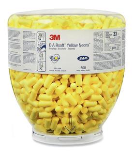 Repuesto 3m E.a.r. Yellow Neons 500 Pares Tapones Auditivos