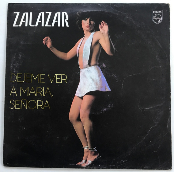 Disco Zalazar Dejeme Ver A Maria, Señora Vinilo