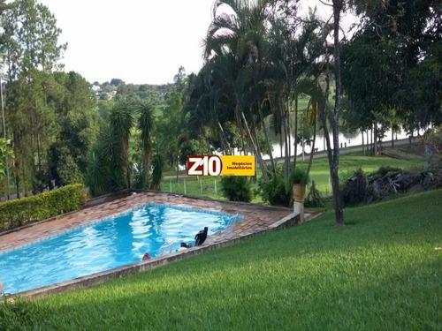 Ch04591 - Lagos De Shanadu -  Z10 Imóveis - At 5.403m² - Ac 132m² - 03 Dormitórios Sendo 01 Suíte, Sala - Ch01817 - 3278787