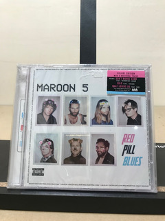 Cd Maroon 5 - Red Pill Blues