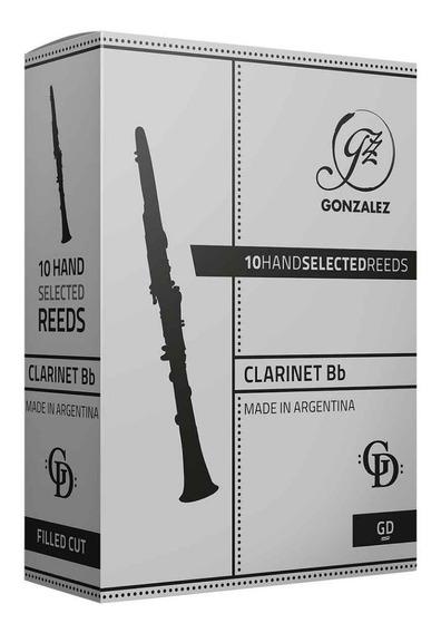 Cañas Gonzalez Gd Para Clarinete Sib