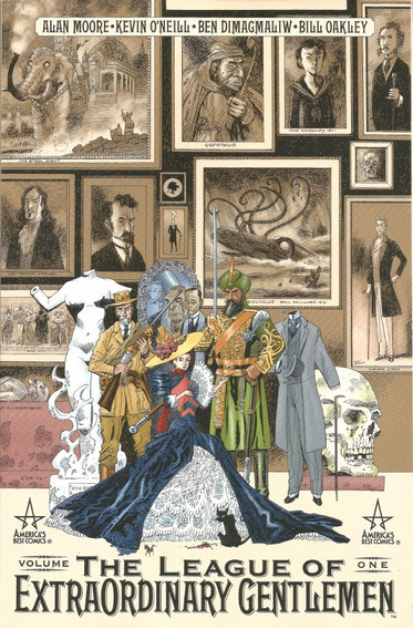 Livro Dc Comics The League Of Extraordinary Gentlemen Vol 1