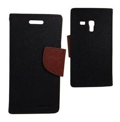 Samsung Flip Cover Funda Cartera Galaxy S3 Mini Negro Cafe