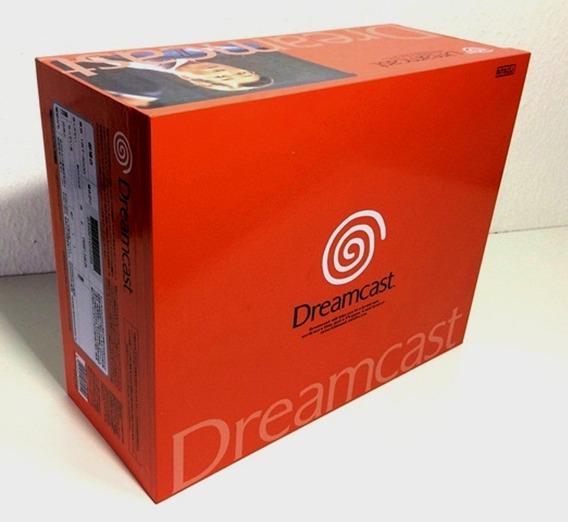 Caixa Vazia Sega Dreamcast Laranja Japones De Madeira Mdf