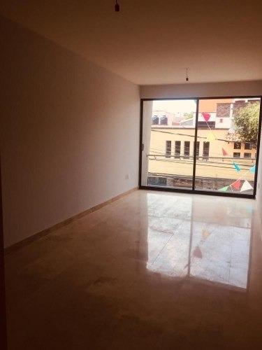 Venta De Hermoso Departamento Nuevo De 75.2m2 En Colonia Del Valle Sur Rg-103