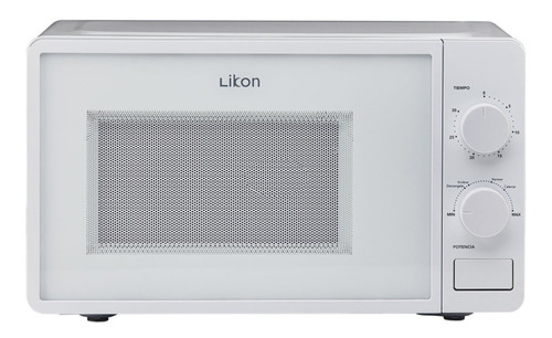 Microondas Likon Li20m-s20  Blanco 20l 220v