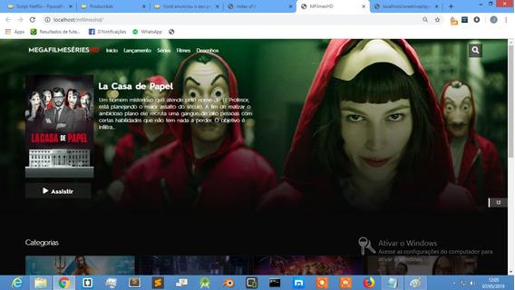 Script De Filmes Online - Site Para Filmes Online + Brinde