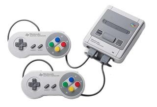 Nintendo Super NES Classic Mini gris