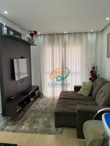 Imagem 1 de 20 de Apartamento À Venda, 78 M² Por R$ 535.000,00 - Ponte Grande - Guarulhos/sp - Ap1015