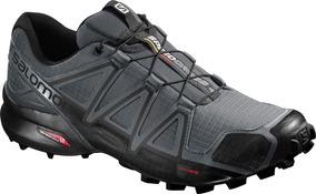 97c48157a2 Zapatilla Masculina Salomon - Speedcross 4 M Gris negro