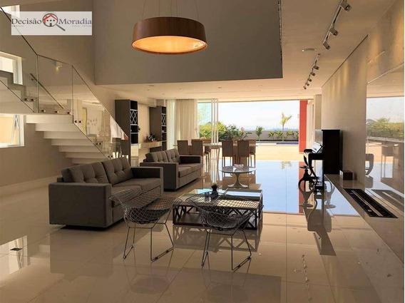 Sobrado Com 5 Dormitórios À Venda, 532 M² Por R$ 2.950.000,00 - Chácaras São Carlos - Cotia/sp - So0914