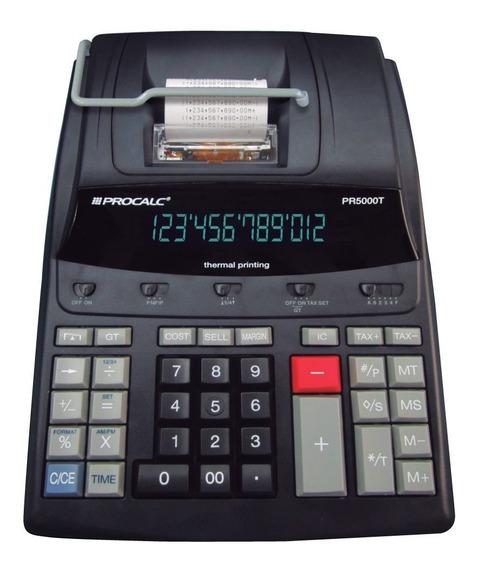 Calculadora Profissional Pr5000t Térmica 12 Dígitos Bivolt