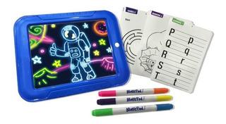 Pizarron Mágico De Dibujo Con Luz Led Para Niños Magic Board