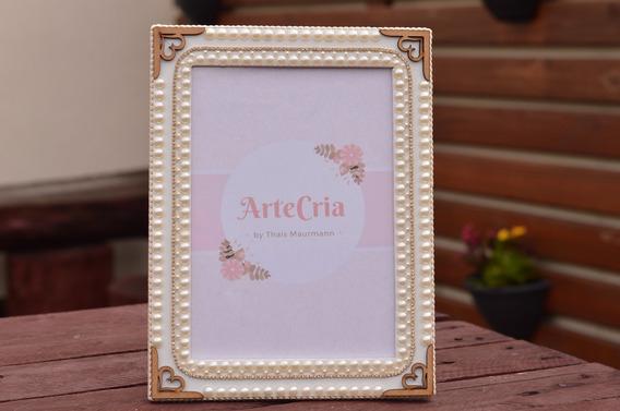 Porta Retrato 15x21 Mdf Com Pérolas