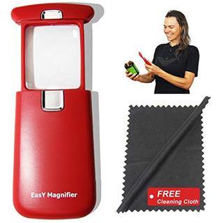Easy Magnifier Lupa De Bolsillo 3x Un Producto