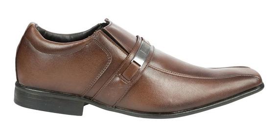 Sapato Social Colombo Masculino Marrom 46937