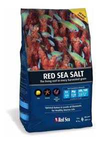 Sal Marinho Red Sea 4kg 120l - Saco Faz 120 L
