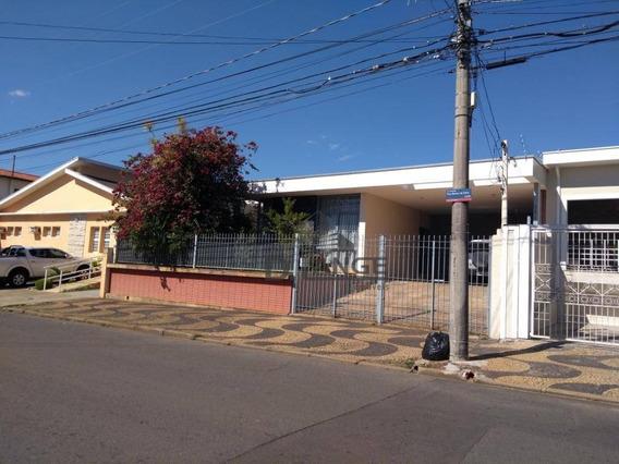 Casa Residencial À Venda, Jardim Chapadão, Campinas. - Ca12137