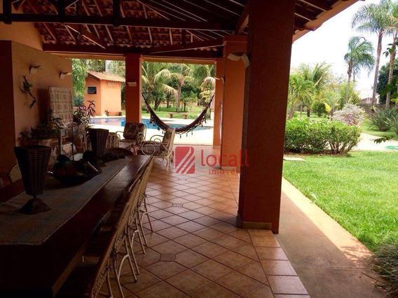Casa Residencial À Venda, Condomínio Jardim Das Acácias, Mirassol. - Ca1116