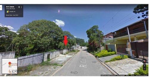 Terreno À Venda, 924 M² - Quinta Dos Angicos - Cotia/sp - Te0003