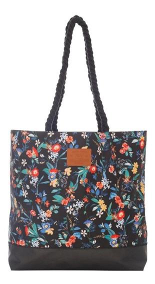 Bolso Billabong Black Nite Beach Bag Mujer