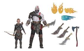 Kratos E Atreus Neca 18cm God Of War Lançamento