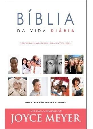 Bíblia De Estudo Joyce Meyer Vida Diária Nvi