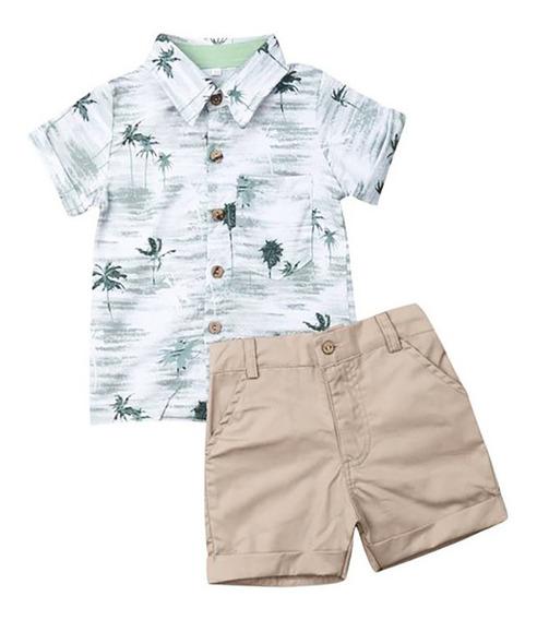 Camisa Y Short Para Niño