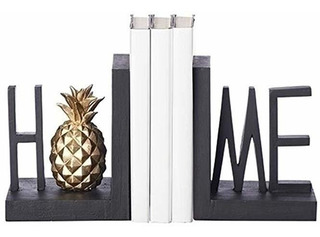 Roman Home Pineapple Industrial - Sujetalibros (resina, 2