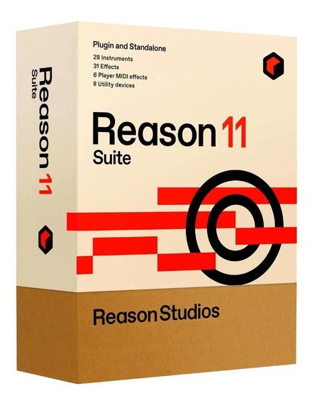 Reason 11 Suite (licença Original E Oficial) Serial/ativação
