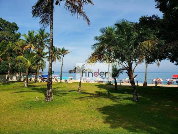 Terreno Na Praia À Venda, 2585 M² Por R$ 5.500.000 - De Frente Para O Mar, Praia Da Paúba - São Sebastião/sp - Te0299