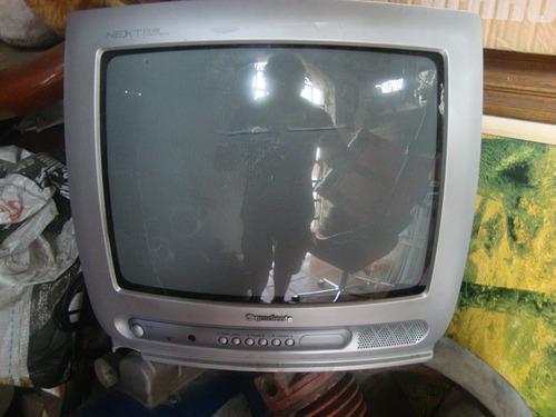 Tv Portátil De Tubo,gradiente,usada.