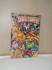 Hq Coleção Histórica Marvel Torneio De Campeões - Vol 1 Novo