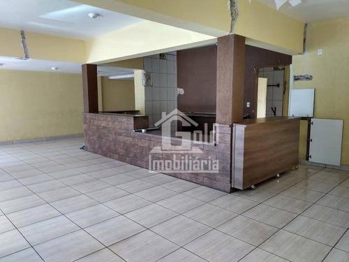 Salão Para Alugar, 174 M² Por R$ 9.000,00/mês - Jardim América - Ribeirão Preto/sp - Sl0241