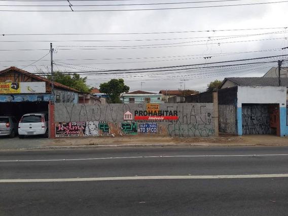 Terreno Para Alugar, 250 M² Por R$ 7.000,00/mês - Cidade Dutra - São Paulo/sp - Te1006